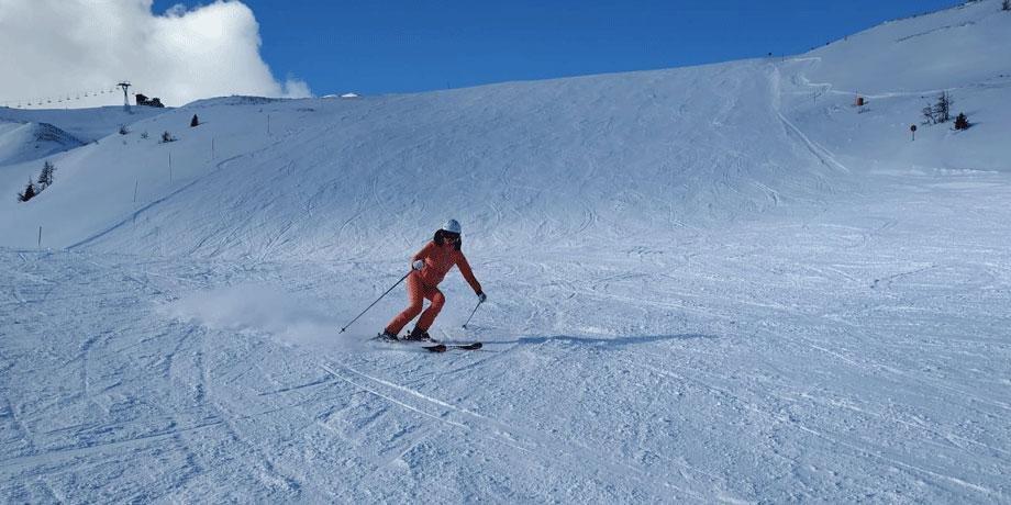 Soorten skiers brede