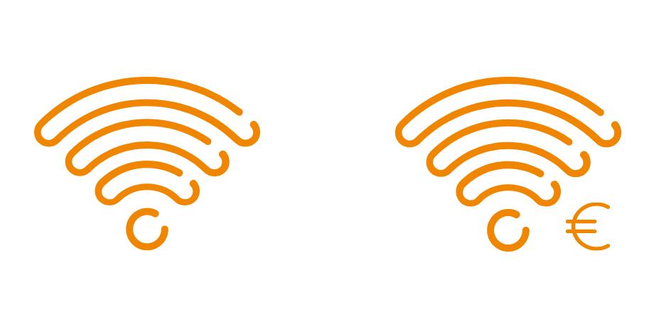 Puberproof symbolen wifi